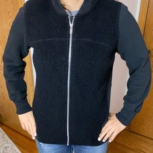 Lululemon Sherpa zip up sweater